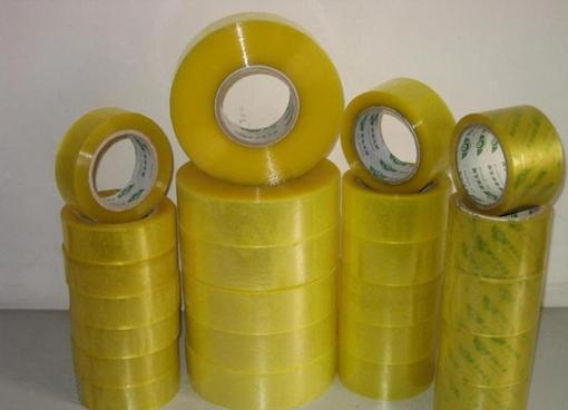 张掖黄色的胶带