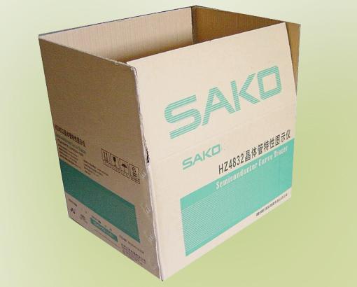 张掖纸箱厂-纸盒